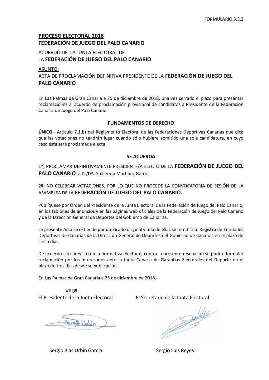 27 Acta Proclamacion Definitiva Presidencia de la Federación