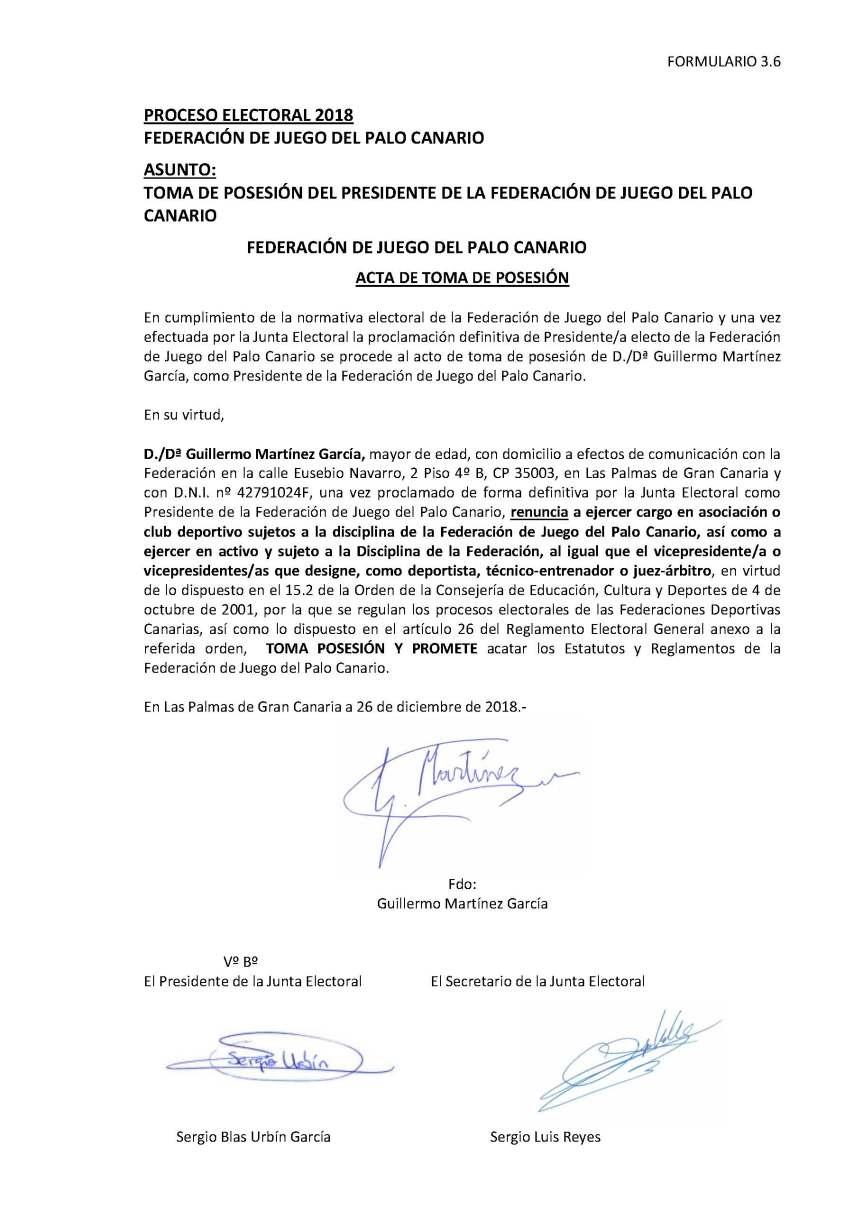 28 Acta de Toma Posesion a Presidencia de FC