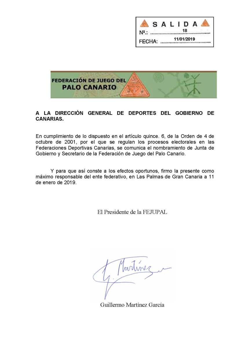 32 comunicaciÓn a la dgd junta de gobierno y secretario de la fejupal